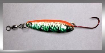 CROC Blinker, Gewicht: 10 Gramm, Farbe: Messing Metallic Perch von Gibbs Delta