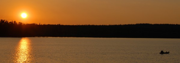 Mit dem Kanu in Schweden: ein Traum.