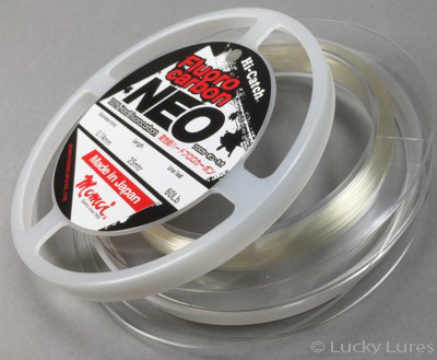 Hechtvorfach Fluorocarbon 0,74 mm Neo High Catch von Momoi.