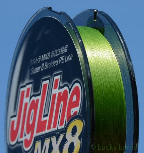 8-fach geflochtene High-End-Schnur JigLine MX8.