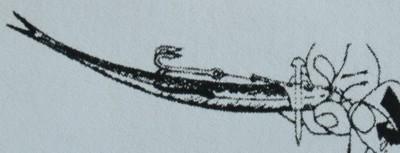 Grafik 2: Biegung des Köderfisches.