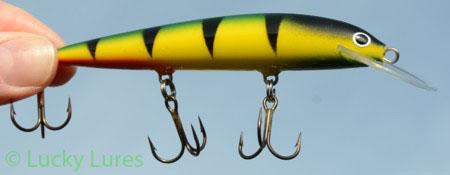 Karikko 11 Fire Tiger für´s feine Spinnfischen.