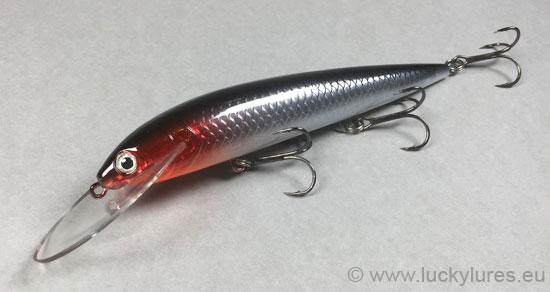 Der Räminä-Wobbler der Karikko Serie in der Farbe 016 ist der Erfolgsköder für das Raubfischangeln im klarem Wasser.