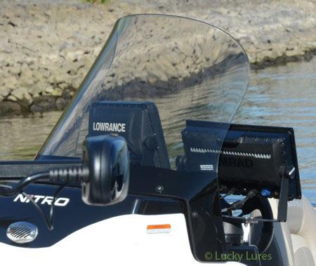 Nitro-Boote: Technik pur, wo man hinschaut.