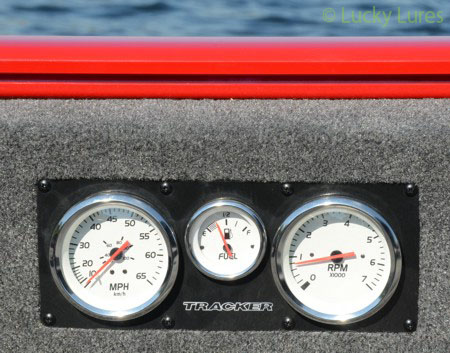 Bei Tracker-Booten hast du alles im Blick.