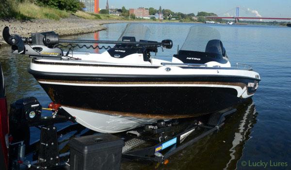 Nitro ZV-Boote sind trotz ihrer Größe leicht zu slippen.