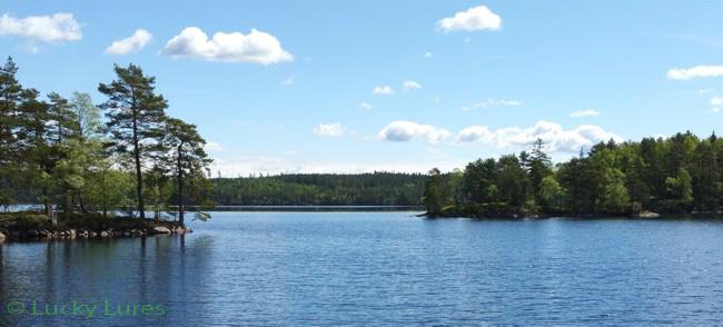 Der Stengårdshultasjön hat 11 Inseln und jede lohnt sich.