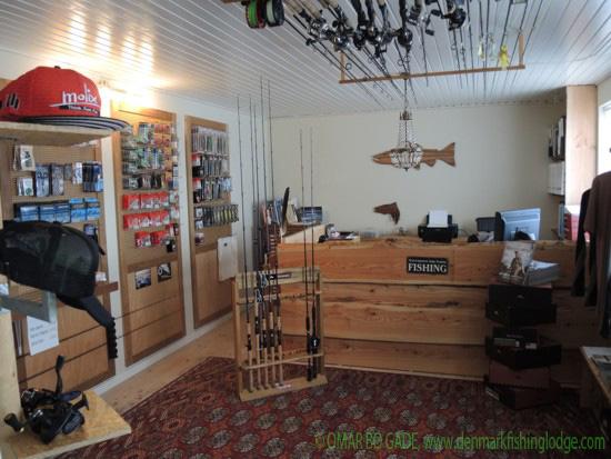 Die Lodge ist top ausgestattet für den Verkauf und Verleih.