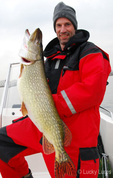 Angler aus Leidenschaft: Trainer Guido.